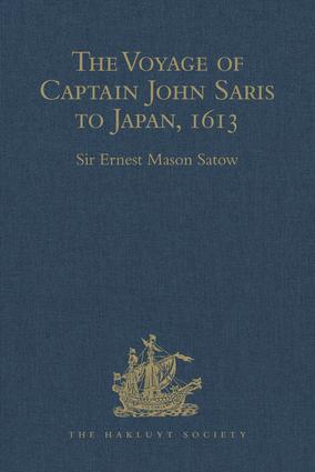 The Voyage of Captain John Saris to Japan, 1613 book cover
