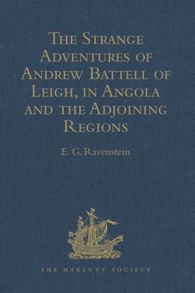 His return to the Portugals : invasions of diverse countries; abuses; flight from them and living in the woods diverse months; his strange boat, and coming to Loango.