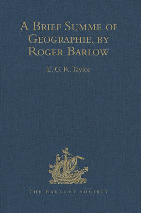 A Brief Summe of Geographie, by Roger Barlow: 1st Edition (Hardback) book cover