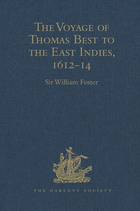 The Voyage of Thomas Best to the East Indies, 1612-14: 1st Edition (Hardback) book cover