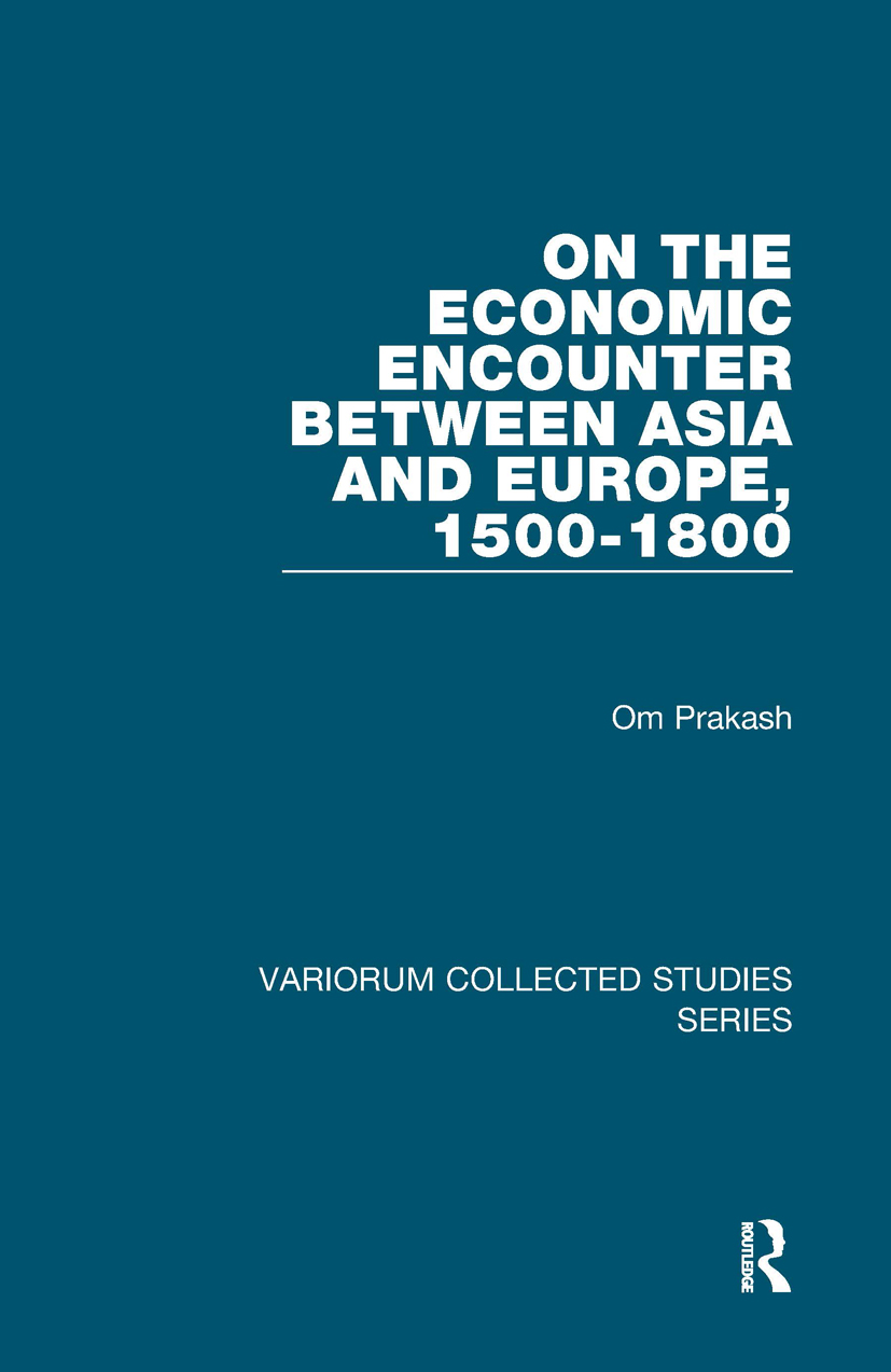 On the Economic Encounter Between Asia and Europe, 1500-1800 book cover