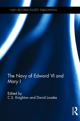 The Navy of Edward VI and Mary I: 1st Edition (e-Book) book cover