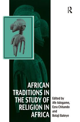 African Traditions in the Study of Religion in Africa