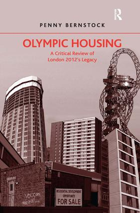 Olympic Housing: A Critical Review of London 2012's Legacy, 1st Edition (Hardback) book cover