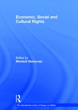 Economic, Social and Cultural Rights: 1st Edition (Hardback) book cover