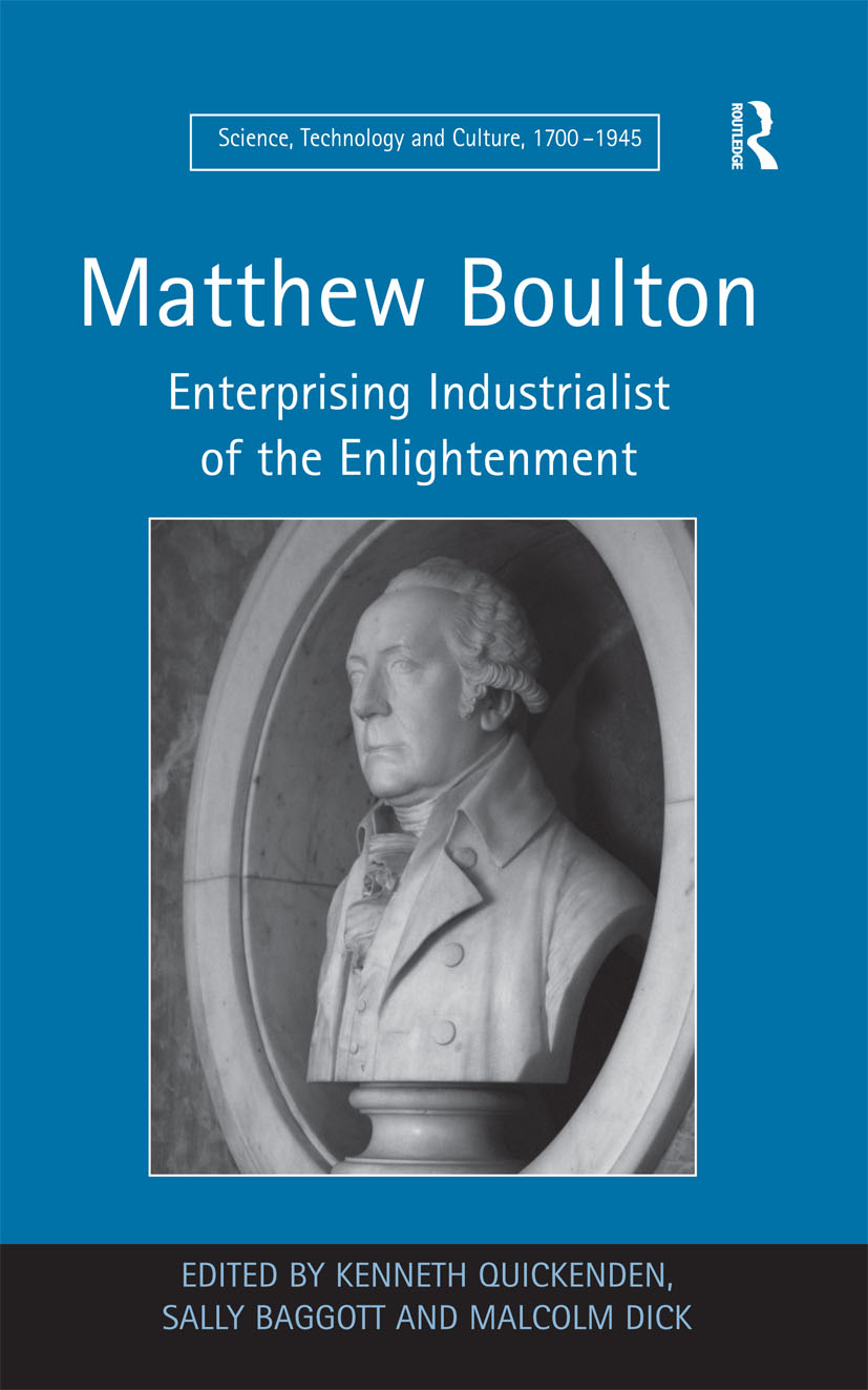 Matthew Boulton: Enterprising Industrialist of the Enlightenment, 1st Edition (Paperback) book cover