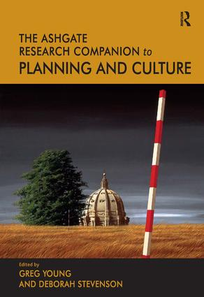 The Routledge Research Companion to Planning and Culture: 1st Edition (Hardback) book cover