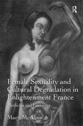 Female Sexuality and Cultural Degradation in Enlightenment France: Medicine and Literature, 1st Edition (Paperback) book cover
