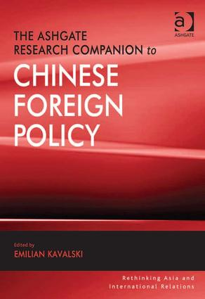The Ashgate Research Companion to Chinese Foreign Policy: 1st Edition (Hardback) book cover