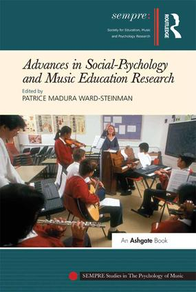 Advances in Social-Psychology and Music Education Research: 1st Edition (Paperback) book cover
