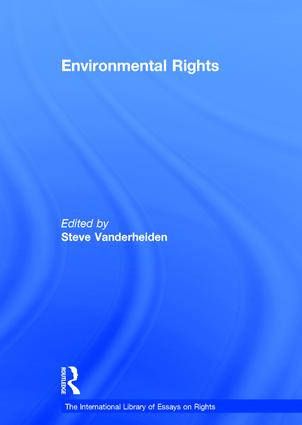 Environmental Rights (Hardback) book cover
