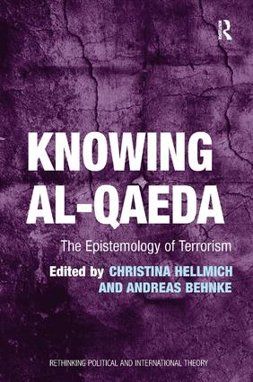 Knowing al-Qaeda: The Epistemology of Terrorism, 1st Edition (Paperback) book cover
