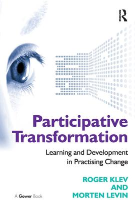 Participative Transformation: Learning and Development in Practising Change book cover