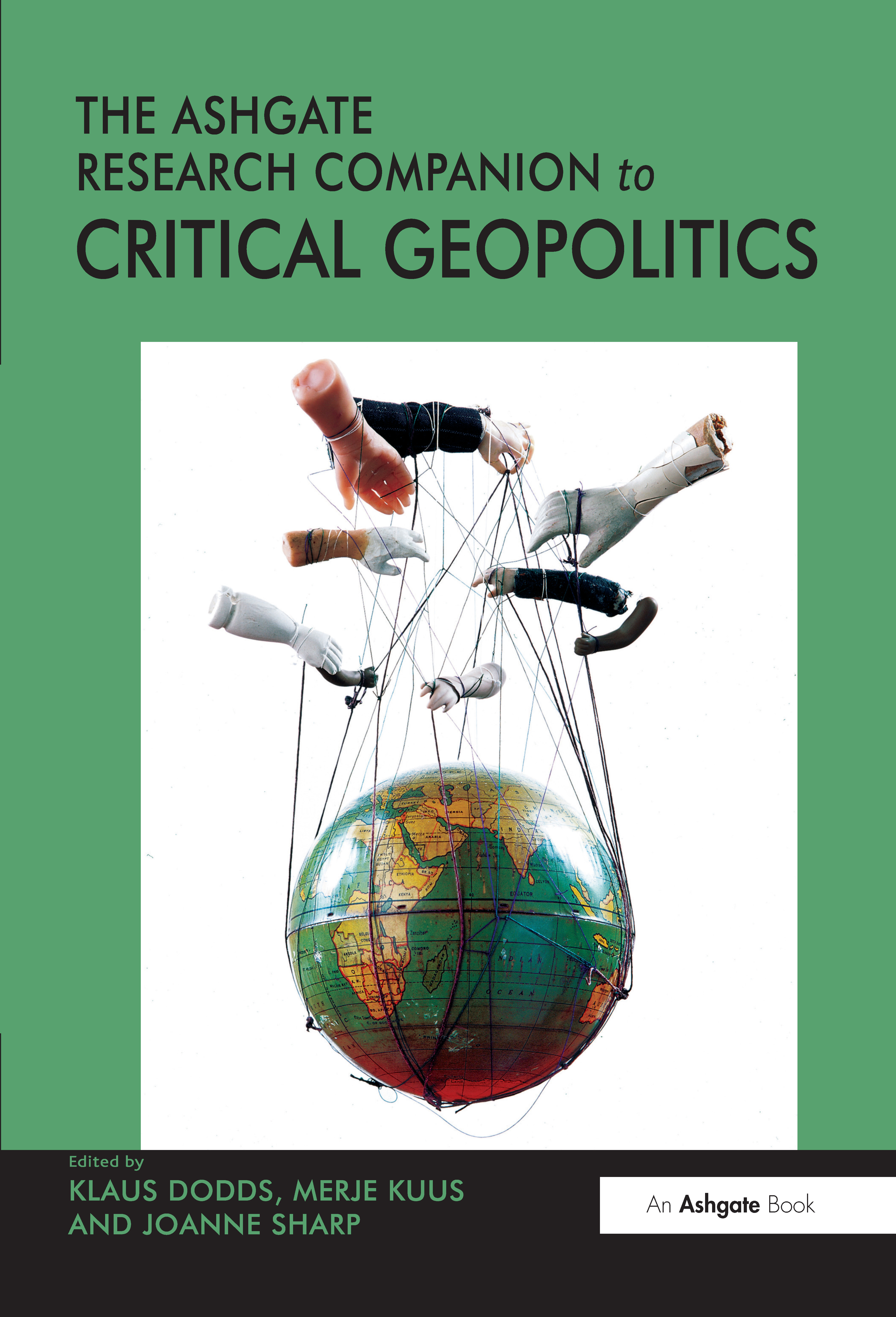 The Routledge Research Companion to Critical Geopolitics (Hardback) book cover