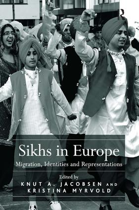 Sikhs in Europe: Migration, Identities and Representations (Hardback) book cover