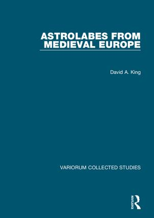 Astrolabes from Medieval Europe (Hardback) book cover