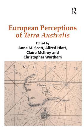 European Perceptions of Terra Australis (Hardback) book cover