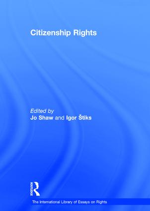 Citizenship Rights (Hardback) book cover