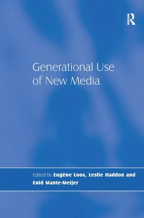 Generational Use of New Media: 1st Edition (Paperback) book cover