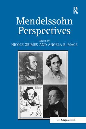 Mendelssohn Perspectives (Hardback) book cover