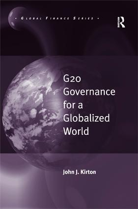G20 Governance for a Globalized World (Hardback) book cover