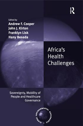 Africa's Health Challenges: Sovereignty, Mobility of People and Healthcare Governance (Hardback) book cover