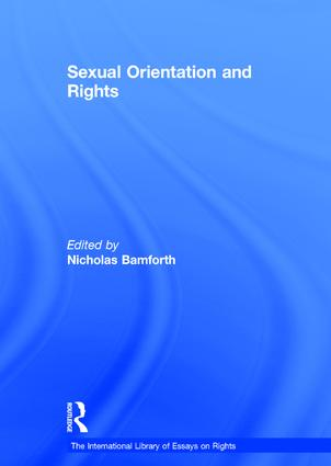 Sexual Orientation and Rights book cover