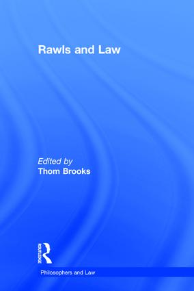 Rawls and Law (Hardback) book cover