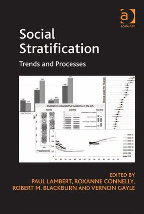 Social Stratification: Trends and Processes (Hardback) book cover