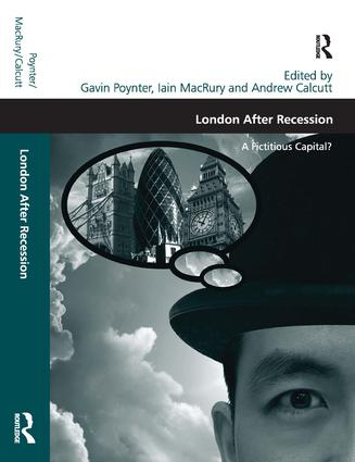 London After Recession: A Fictitious Capital? (Hardback) book cover