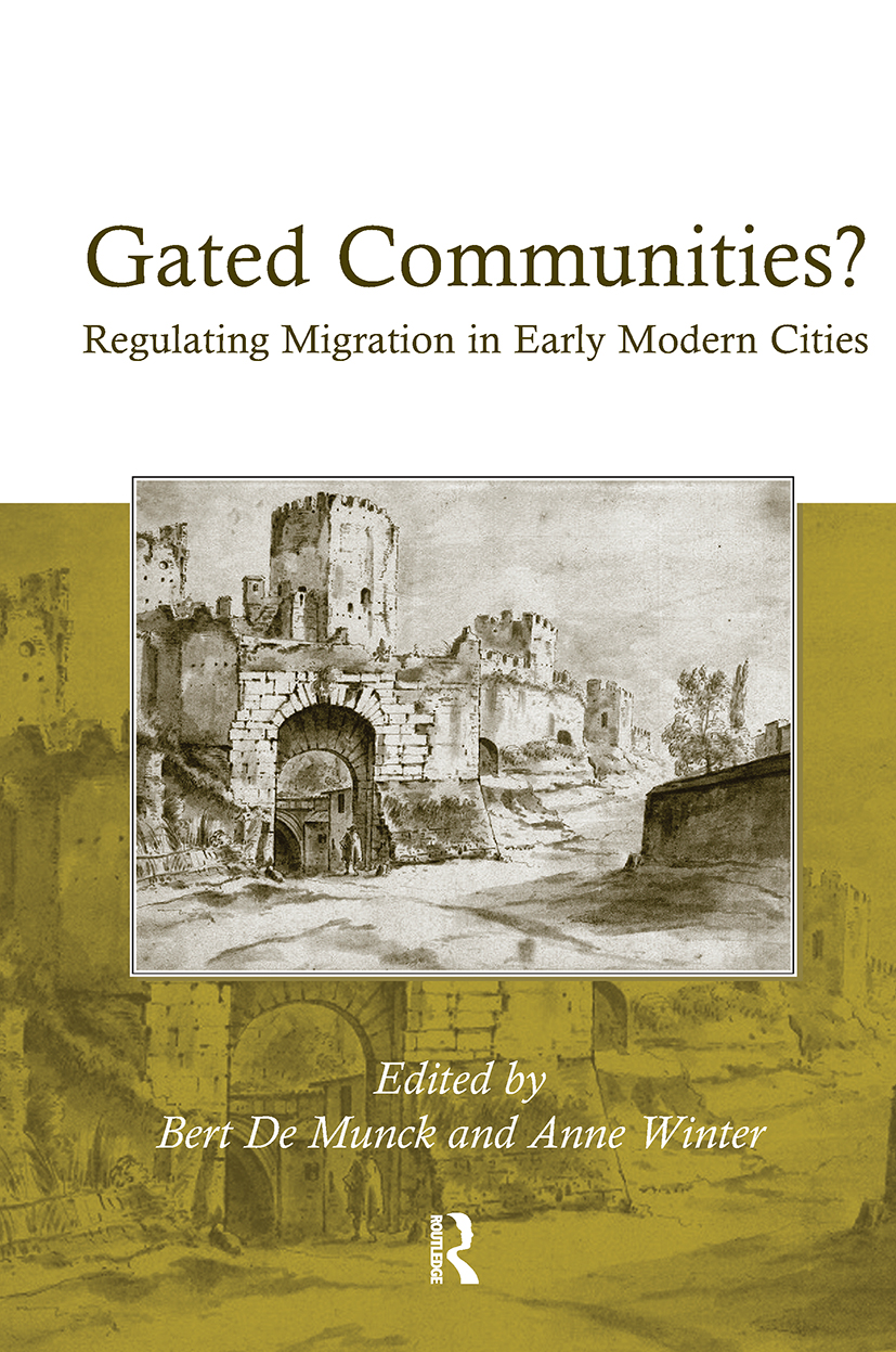 Gated Communities?: Regulating Migration in Early Modern Cities (Hardback) book cover