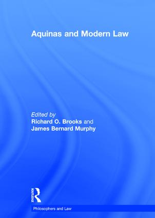 Aquinas and Modern Law book cover