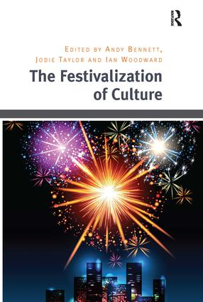 The Festivalization of Culture: 1st Edition (Hardback) book cover
