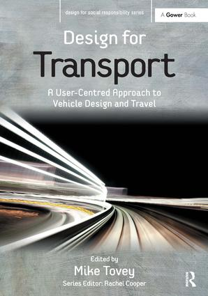 Design for Transport: A User-Centred Approach to Vehicle Design and Travel book cover