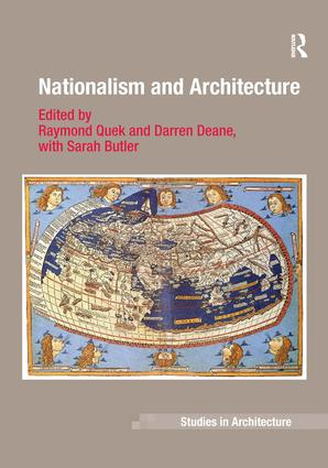 Nationalism and Architecture (Hardback) book cover