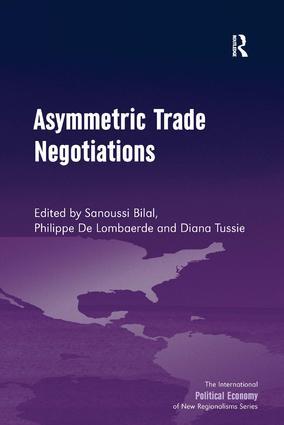 Asymmetric Trade Negotiations: 1st Edition (Hardback) book cover