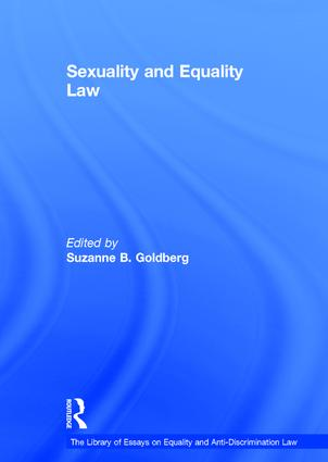 Sexuality and Equality Law book cover