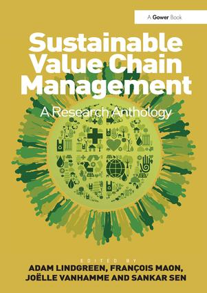 Sustainable Value Chain Management: A Research Anthology, 1st Edition (Hardback) book cover