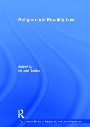 Religion and Equality Law book cover