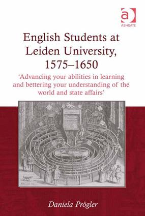 English Students at Leiden University, 1575-1650