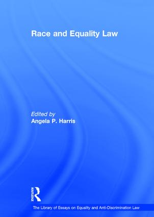 Race and Equality Law book cover