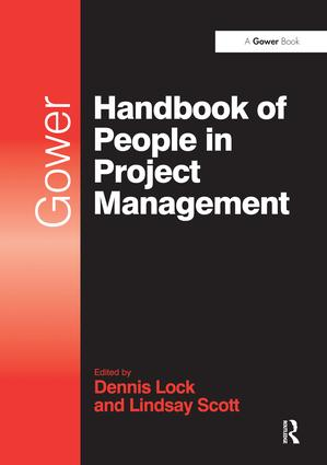 Gower Handbook of People in Project Management book cover