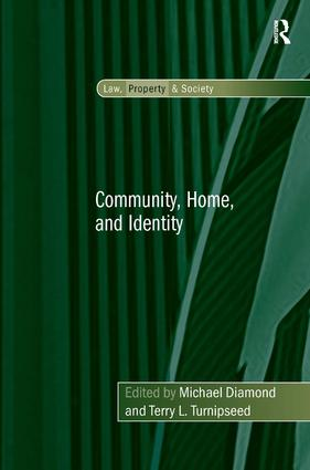 Community, Home, and Identity: 1st Edition (Paperback) book cover