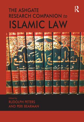 The Ashgate Research Companion to Islamic Law: 1st Edition (Hardback) book cover
