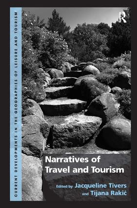 Narratives of Travel and Tourism: 1st Edition (Hardback) book cover