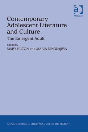 Contemporary Adolescent Literature and Culture: The Emergent Adult (Hardback) book cover