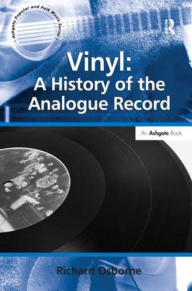 Vinyl: A History of the Analogue Record (Hardback) book cover