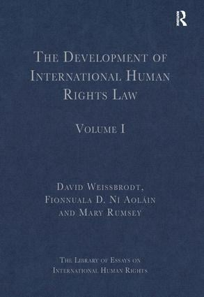 The Development of International Human Rights Law: Volume I, 1st Edition (Hardback) book cover