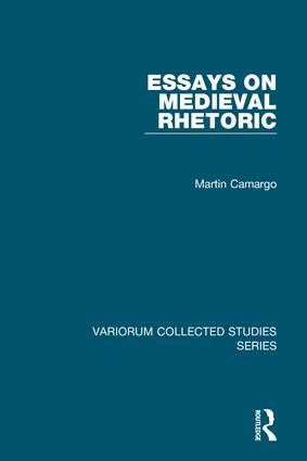 Essays on Medieval Rhetoric book cover