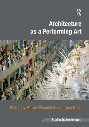 Architecture as a Performing Art book cover
